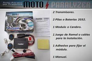 Transceiver Moto Paralyzer