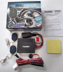 Moto Paralyzer y sus componentes