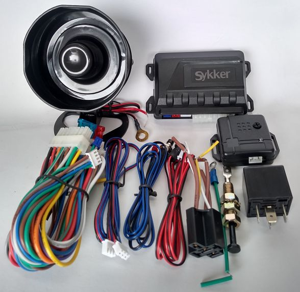 Alarma Upgrade para Vehículo - Contenido