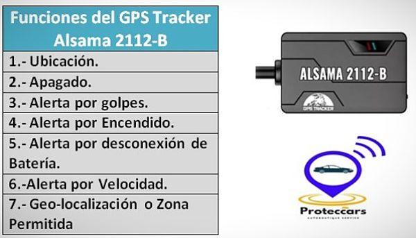 Gps Tracker Funciones