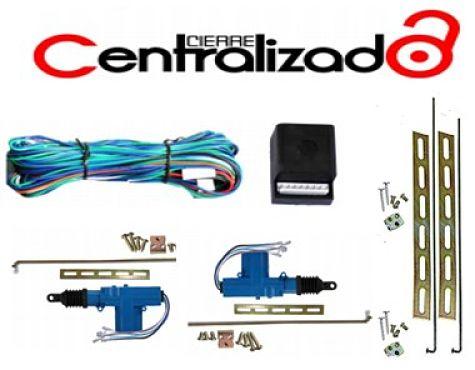 Cierre Centralizado integrado a las cerraduras de vehículo