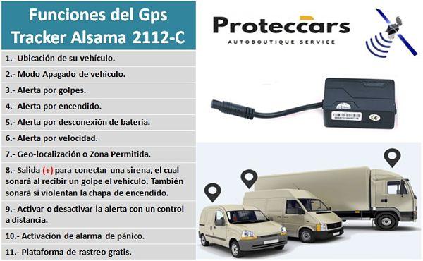 Gps Tracker Alsama 2112-C Funciones