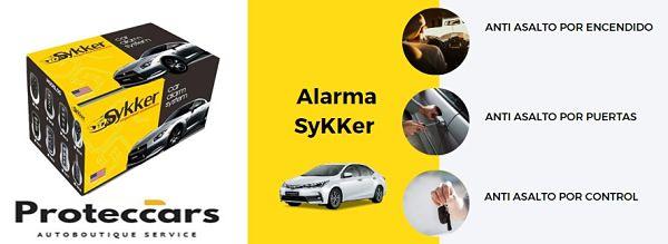 Alarma SyKKer 3 Niveles de seguridad