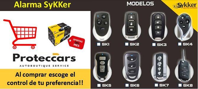 8 Modelos de controles Sykker
