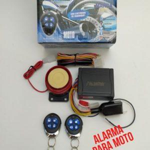 Alarma para Moto Alsama MA201 con todas sus piezas