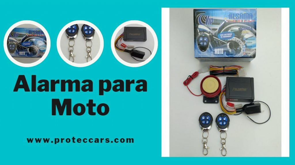 Alarma para Moto Alsama MA201