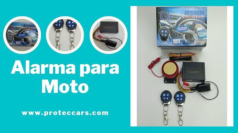 Alarma para moto Alsama M201 y sus piezas