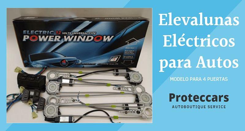 Elevalunas eléctrico Power window para autos 4 Puertas