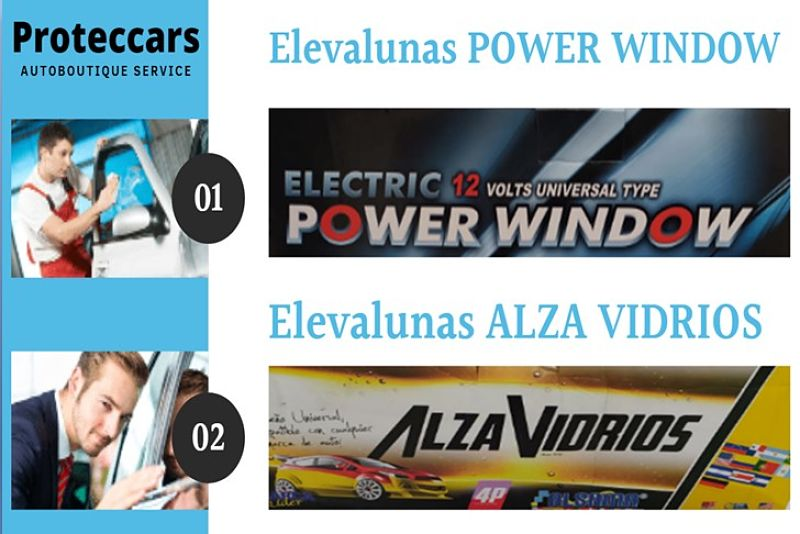 Power Window y Alza Vidrio