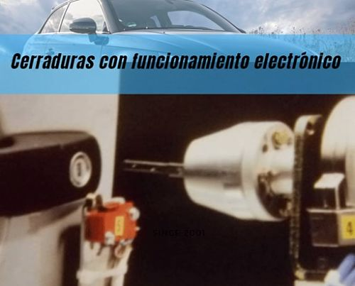 Las cerraduras de vehículo electrónicos