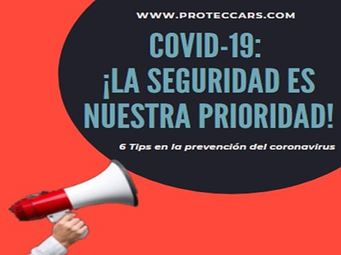 Covid-19 o coronavirus 6 Tips para prevenir su contagio