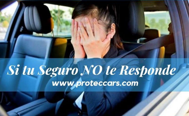 Seguros para Autos No Responde, Mujer frustrada al enterarse que su seguro no le cubre sus daños.
