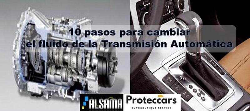 10 pasospara cambiar el fluido de la transmisión automática