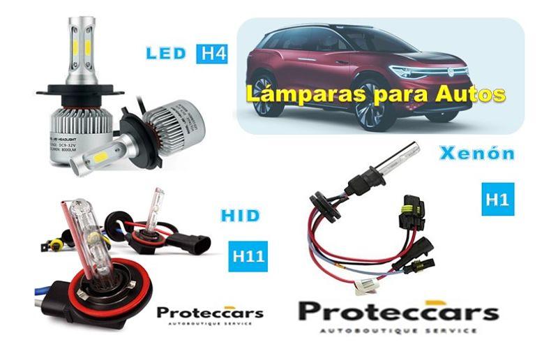 Lámparas HID, LED y XENÖN