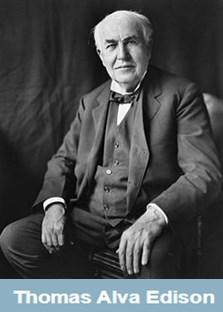 Thomas Alva Edison Foto