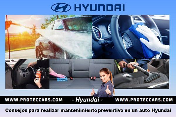 5 consejos de Limpieza e higenización a un auto Hyundai