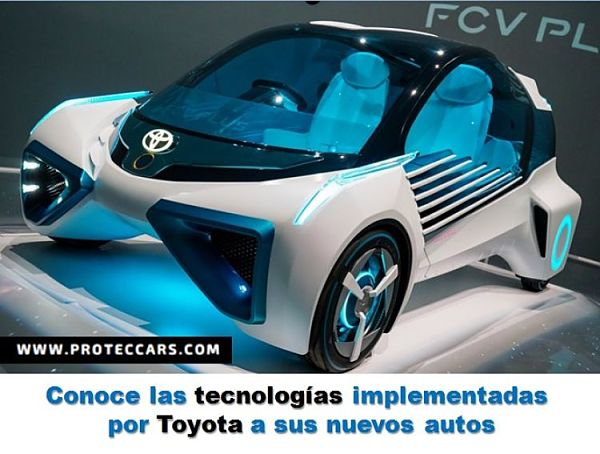 Conoce las tecnologías implementadas por Toyota a sus nuevos autos
