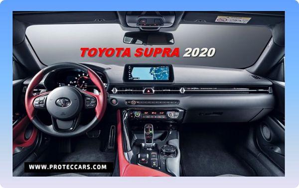 Toyota Supra 2020, parte interna