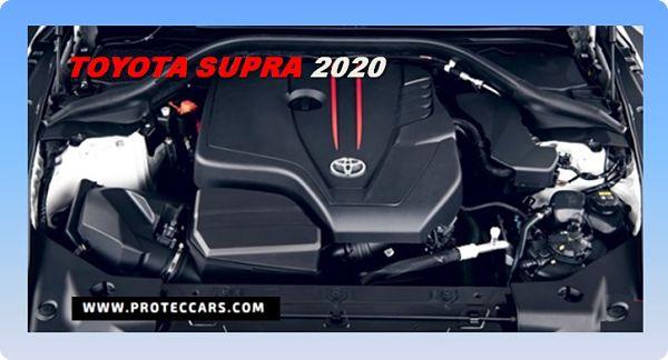 Toyota Supra Motor 2020