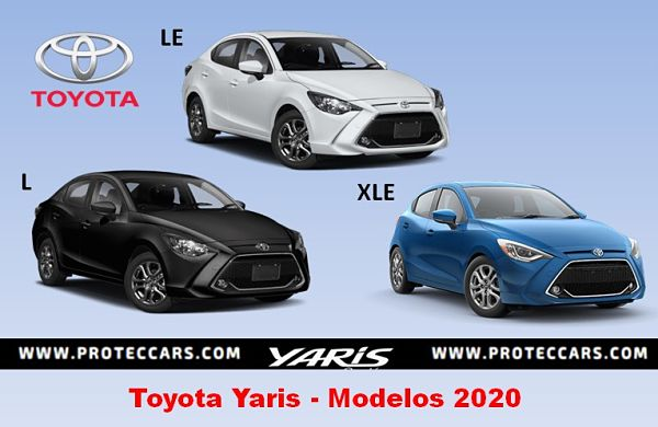 Toyota Yaris Modelos 2020