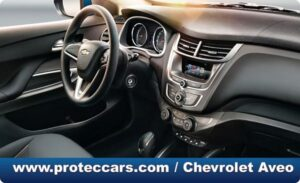 Chevrolet Aveo Parte interior
