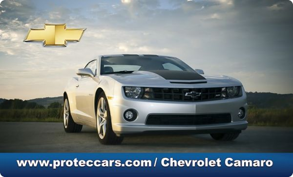 Chevrolet Camaro en la vía