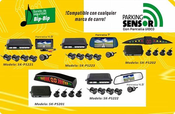 5 Modelos de Parking Sensor o sensor de aparcamiento