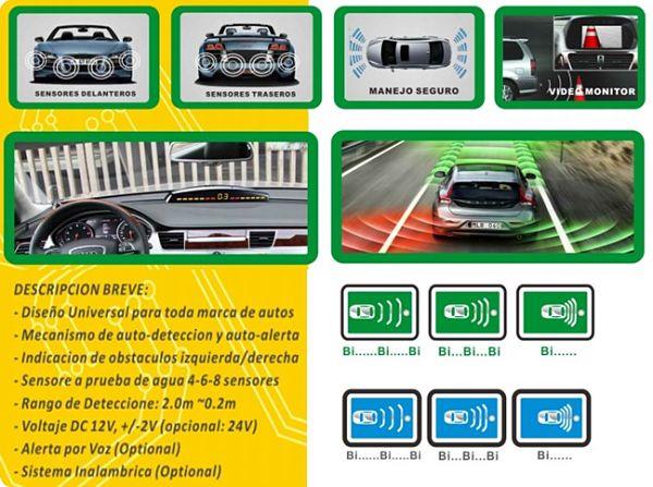 Sensor de aparcamiento y sus características