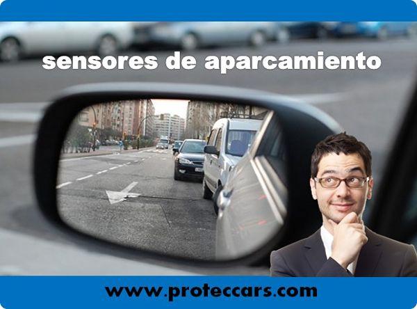cómo funciona el sensor de aparcamiento