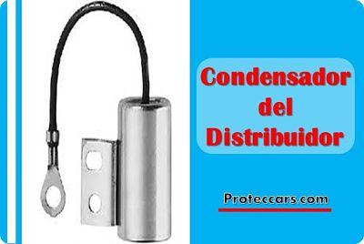 Condensador del distribuidor
