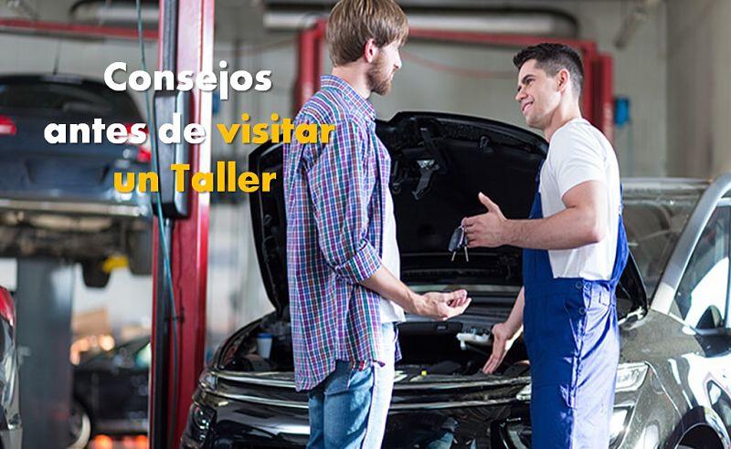 Consejos antes de visitar un taller de reparación de automóviles