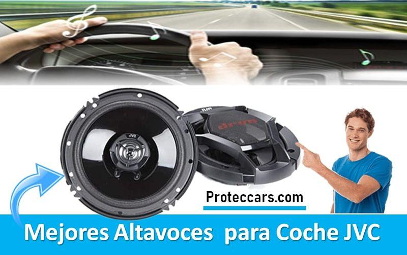 Mejores altavoces para coches JVC